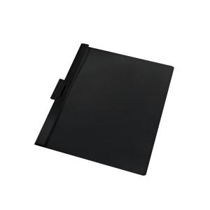 herlitz Klemmhefter - DIN A4 - schwarz - PVC - 60 Blatt