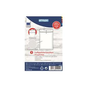 Stylex Luftpolstertaschen - Gr. 11 - 12 x 17,5 cm - 3...