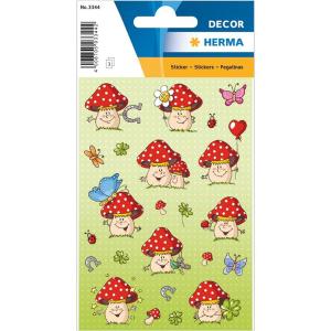 Herma 3344 DECOR Sticker - Glückspilz - 54 Sticker