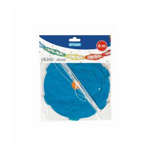 Stylex Girlande - farbig - 6 m - 4-fach sortiert