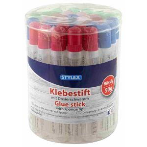 Stylex Klebestift - flüssig - mit Dosierschwamm - 50 g