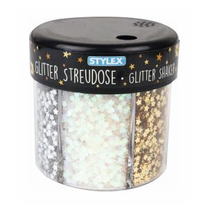 Stylex Glitter-Streudekor - 60 g - 6 Dekore
