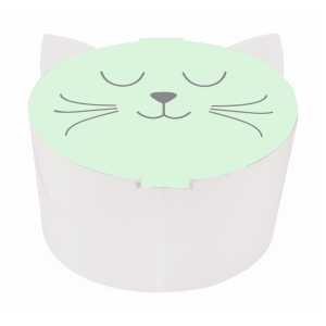 Stylex Cat Collection Pinselbecher - 2 Tanks - farbig...