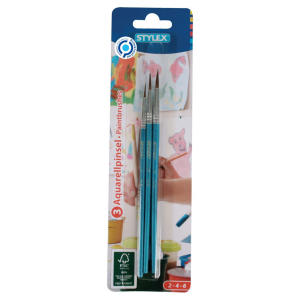 Stylex Aquarellpinsel - 3 Stück - Größe...