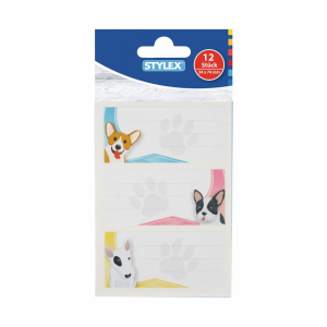 Stylex Buch-Etiketten - 34 x 74 mm - selbstklebend -...