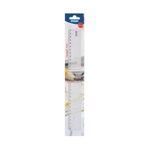 Stylex Lineal - 30 cm - Kunststoff - transparent
