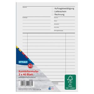 Stylex Multiformular - DIN A5 - selbstdurchschreibend -...