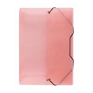 Stylex Heftbox - DIN A4 - mit Gummizugverschluss - farbig...