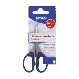 Stylex Silhouettenschere - 10 cm - spitz