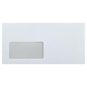 Stylex Briefumschläge - DIN Lang - mit Fenster - 25...