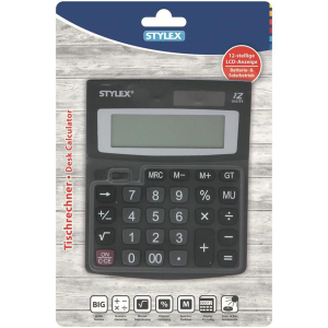 Stylex Tischrechner Beta - 11 x 14 cm