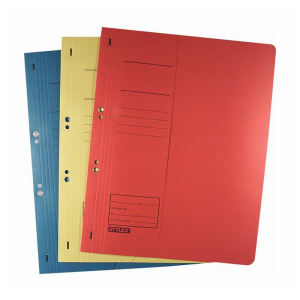 Stylex Ösenhefter - DIN A4 - gelb - 10 Stück