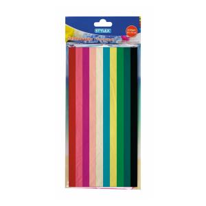 Stylex Seidenpapier - 50 x 70 cm - 20 Stück - 10 Farben