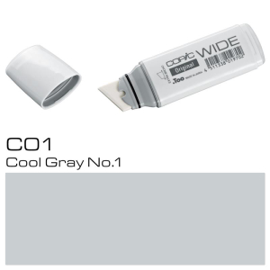 COPIC Wide Marker C1 - Cool Grey No. 1