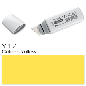 COPIC Wide Marker Y17 - Golden Yellow