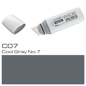 COPIC Wide Marker C1 - Cool Grey No. 7