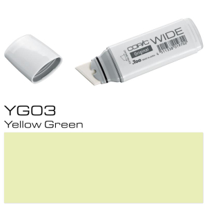 COPIC Wide Marker YG03 - Yellow Green