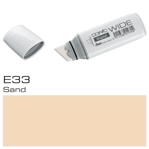 COPIC Wide Marker E33 - Sand
