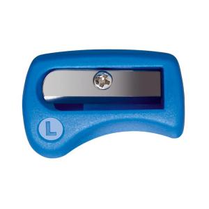 STABILO EASYergo Spitzer - Linkshänder - blau