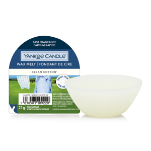 Yankee Candle Classic Wax Melt Clean Cotton 22g