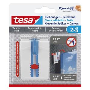 tesa Klebenagel für Tapeten und Putz - Tragkraft bis...