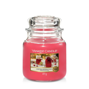 Yankee Candle Classic Medium Jar Christmas Morning Punch...