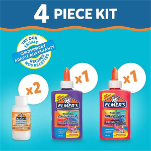 Elmers Slime Kit Opaque Pink und Lila