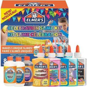 Elmers Glitzer Slime Set Celebration 8 teilig