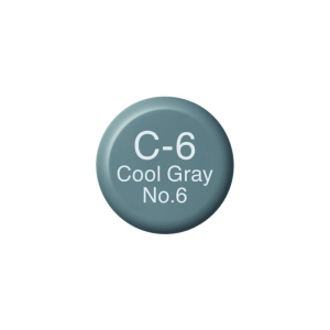 COPIC Ink C6 - Cool Gray No.6