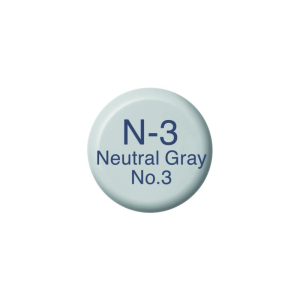 COPIC Ink N3 - Neutral Gray No.3
