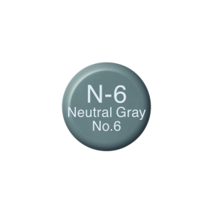 COPIC Ink N6 - Neutral Gray No.6