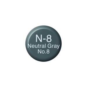 COPIC Ink N8 - Neutral Gray No.8