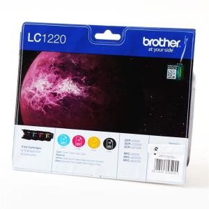 Brother LC1220 Original Druckerpatrone - black - cyan -...