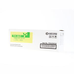Kyocera TK-865Y Original Lasertoner - yellow