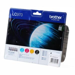 Brother LC970 Original Druckerpatrone - black - cyan -...