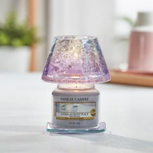 Yankee Candle Small Shade and Tray - Savory - lila