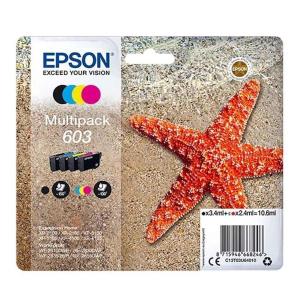 Epson 603 Original Druckerpatrone Multipack - schwarz -...