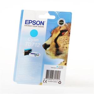 Epson T0712 Original Druckerpatrone - cyan