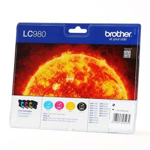 Brother LC980 Original Druckerpatrone - black - cyan -...