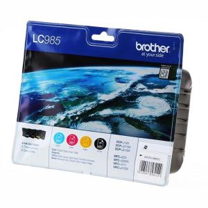 Brother LC985 Original Druckerpatrone - black - cyan -...