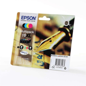 Epson T1636XL Original Druckerpatrone Multipack - schwarz...