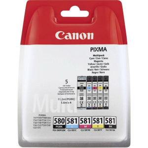Canon CLI-581 Original Druckerpatrone - Multipack 5 Patronen