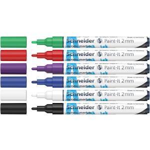 Schneider Acrylmarker Paint-It 310 - 6er Etui 1