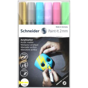 Schneider Acrylmarker Paint-It 310 - 6er Etui 2