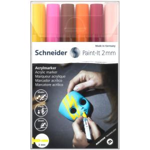 Schneider Acrylmarker Paint-It 310 - 6er Etui 3