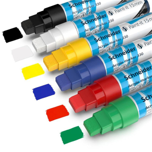 Schneider Acrylmarker Paint-It 330 - 6er Etui 1