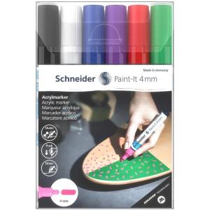 Schneider Acrylmarker Paint-It 320 - 6er Etui 1