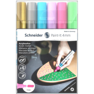 Schneider Acrylmarker Paint-It 320 - 6er Etui 2