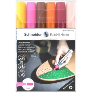 Schneider Acrylmarker Paint-It 320 - 6er Etui 3
