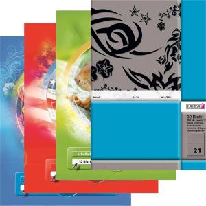 Landré Schulheft - DIN A4 - 32 Blatt